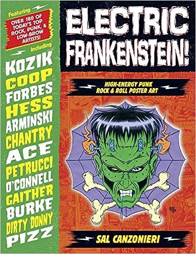 ea32bb73f3 Electric Frankenstein!  Sal Canzonieri  9781593070441  Amazon.com  Books