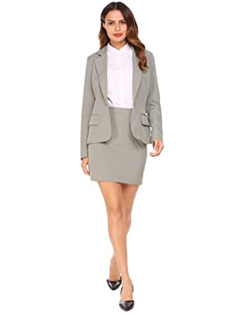 Amazon Com Burlady Women Business Suit Formal Casual Wear To Work