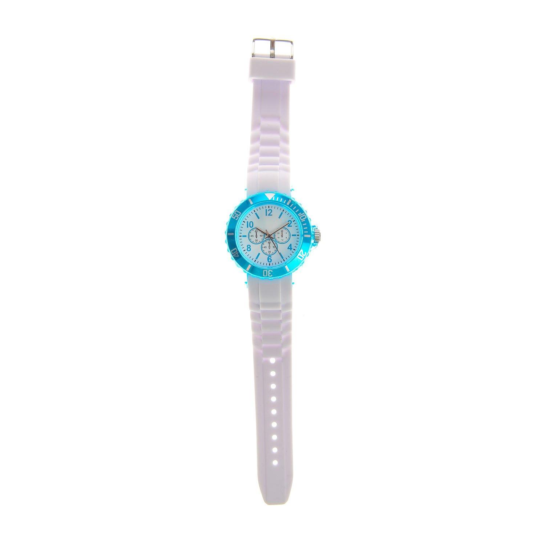 Claires - Reloj de pulsera mujer, silicona, color blanco: Amazon.es: Relojes