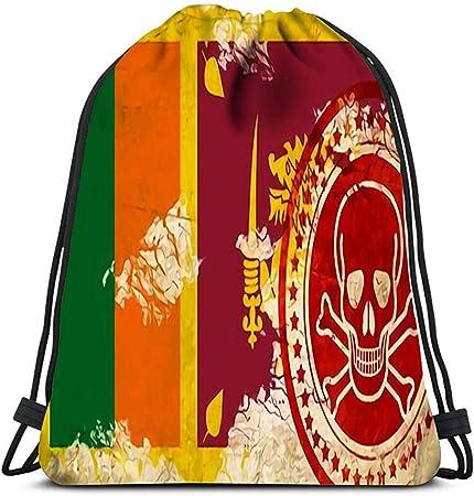 Mochila con Cuerdas,Bandera De Sri Lanka con Algunos Toques ...