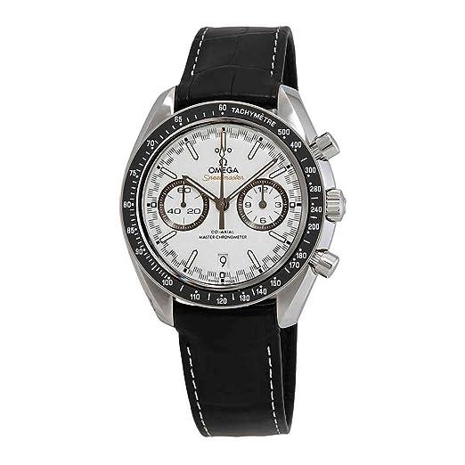 Omega Speedmaster 329.33.44.51.04.001 - Reloj cronógrafo automático para hombre, esfera blanca: Amazon.es: Relojes