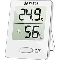 Habor Thermo-hygrometer, luchtvochtigheidsmeter binnen digitale thermometer hygrometer binnen hydrometer vocht digitaal…