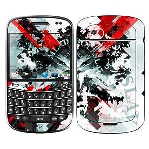 Diabloskinz B0059-0034-0022 Mlada Vinilo Piel für Blackberry Bold 9900 Series