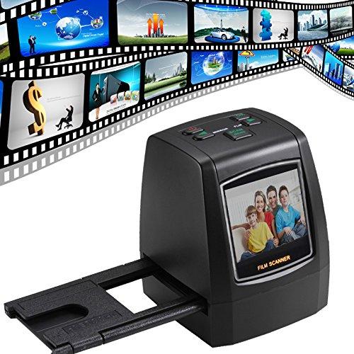 Filem Scanner 22 Megapixel High Resolution Film & Slide Scanner, Slide...