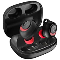 Noise Shots X5 PRO Bluetooth Truly Wireless Earbuds, 150 Hrs Playback with Qualcomm AptX and in-Built Powerbank for Reverse Charging (Hot Red)