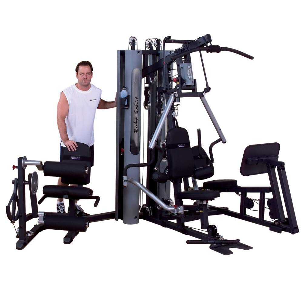 Body-Solid Bi-Angular Gym with Leg and Calf Press G10B-LP
