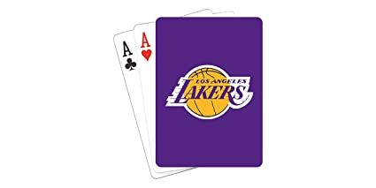 759a631b4 Amazon.com   NBA Los Angeles Lakers Playing Cards   Sports Fan Games ...