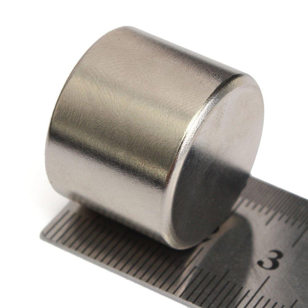 Aimant en n/éodyme aimant de terre rare 25x20mm disque terre rare NdFeB mat/ériau magn/étique