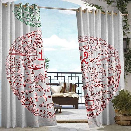 Andrea Sam - Cortina de privacidad para exteriores, diseño de pérgola de Pascua, estilo vintage, patrón de