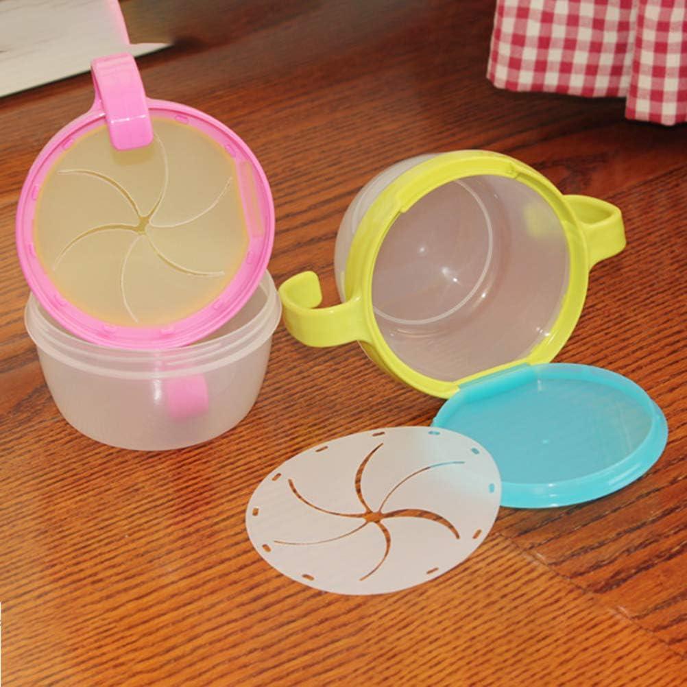Snack Becher Kinder Snack Sch/üssel Kleinkind Sch/üsseln Babyern/ährung Schalen mit Spill Proof Deckel und Anti Rutsch Griff f/ür Kinder Snack Bowls