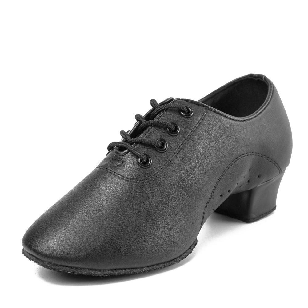 DKZSYIM Boys/&Kids Professional Latin Dance Shoes Ballroom Jazz Tango Waltz Performance Shoes