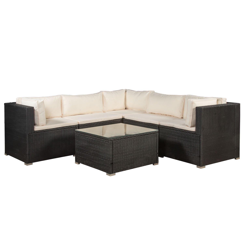 Amazon.de: ArtLife Polyrattan Gartenmöbel Lounge Sitzgruppe Nassau ...