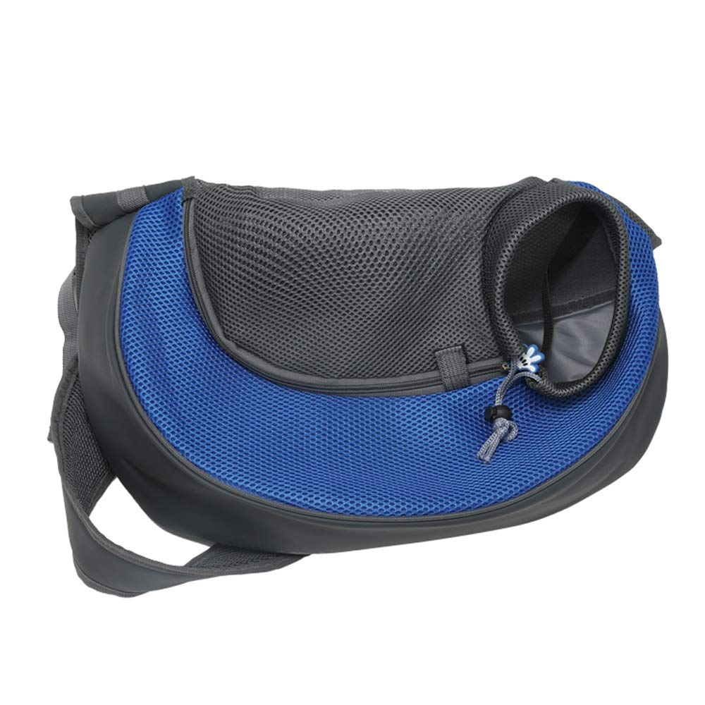 bluee S bluee S Teng Peng Pet travel bag, pet travel transport, suitable for small dogs, cat bags, dog bags, diagonal straps, chest with cat bags, pet outing equipment Pet supplies pet bag (color   bluee, Size   S)