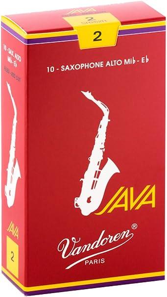 Traditional Blue Box Alto Saxophone Sax Reeds 2 1//2 Box of 10 Vandoren Size 2.5