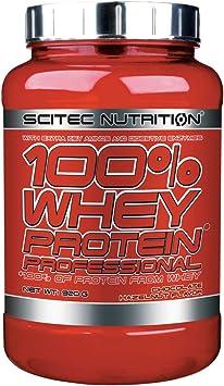 SCITEC 100% proteína de suero profesional 920g CHOCOLATE AVELLANA