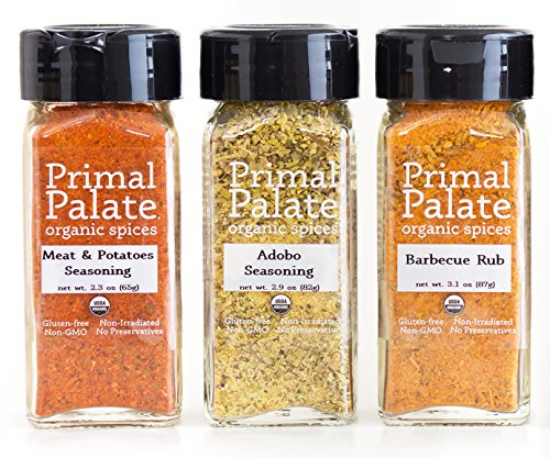Primal Palate Organic Spices Gift Set