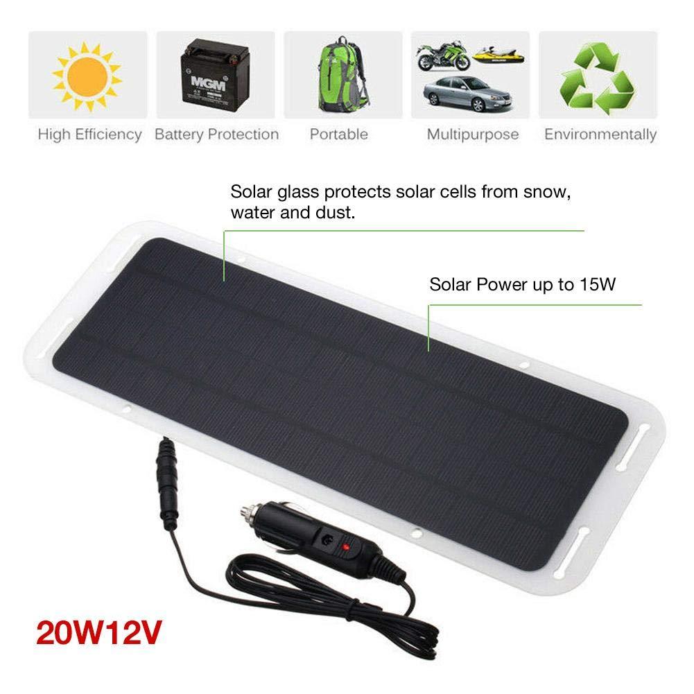 Batería portátil de energía solar Cargador de panel de goteo ...