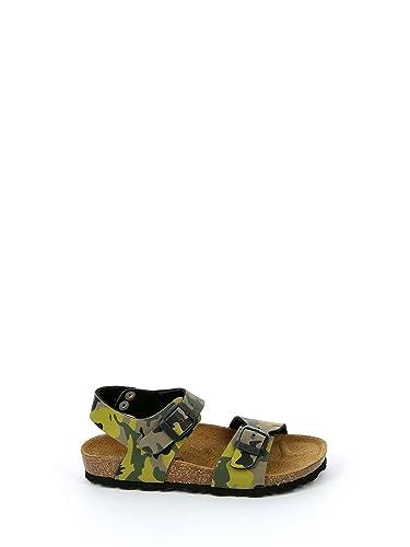 Grunland Junior SB0115 Luce Sandalo Bamb. S. Militare-Blu 28 zIvsV83Uo