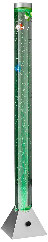 Reality R5073-47 Motion - Sobremesa, bombilla incluida, SMD, LED, 3,6 W, 2700 K, 230 V, IP21, 130 x 21,5 x 21,5 cm, diámetro 10 cm, plástico, titán