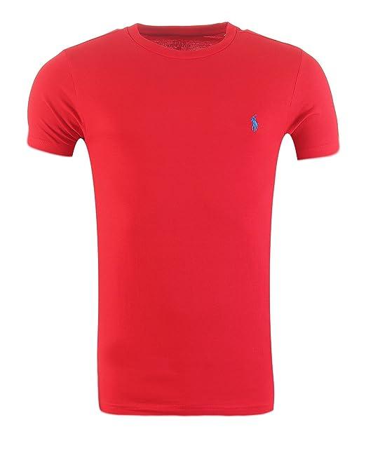 Ralph Lauren Hombres Camiseta, Custom Fit, Varios Colores, S-XL, Original, Outlet: Amazon.es: Ropa y accesorios