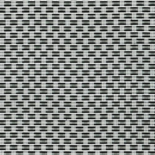 Tenax Valla de ocultación Brise Vue TexStyle Plata/Negro 500 x 0,1 x 100 cm 1 a140302