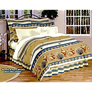 61idDpWV1KL._SS300_ Seashell Bedding Sets & Comforters & Quilts