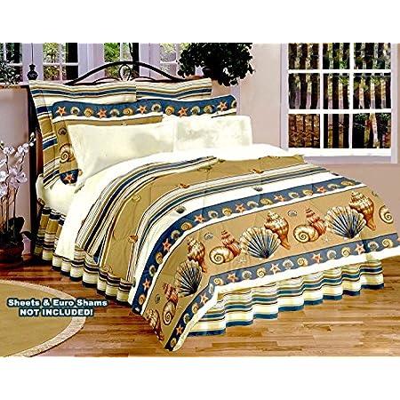 61idDpWV1KL._SS450_ Seashell Bedding and Comforter Sets