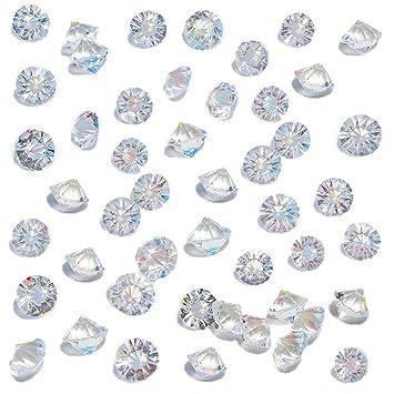 Outstanding Dotters Clear Glass Diamonds 500Pcs Crystal Gems Pirate Treasure 10Mm Fake Diamond Wedding Favor Table Centerpiece Decorations Interior Design Ideas Gresisoteloinfo