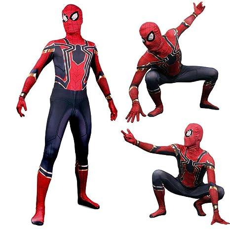 PIAOL Traje De Spiderman De Hierro para Niños, Juego De ...