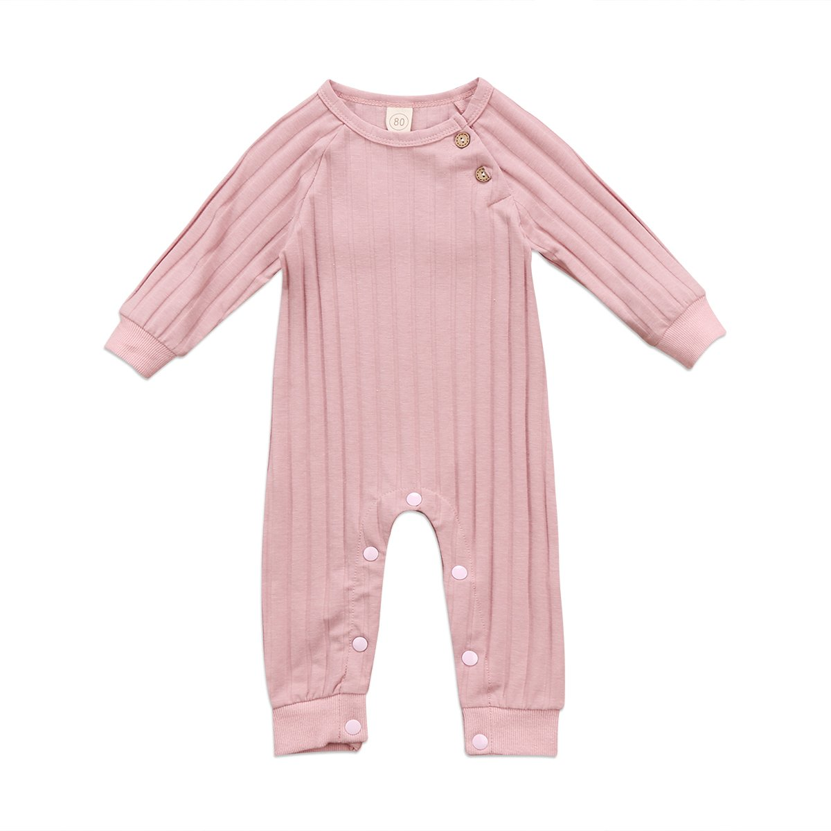 Newborn Baby Girl Boy Angel Wings Romper Jumpsuit Long Sleeve One piece Clothes ITFABS