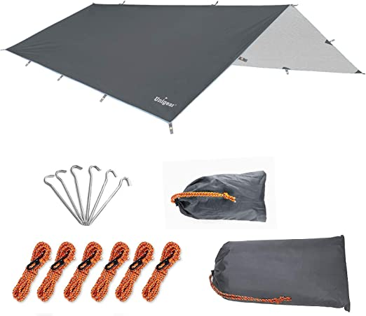 Unigear Toldo Camping Impermeable Lona Suelo Protector Aolar ...