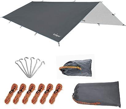 Toldo camping