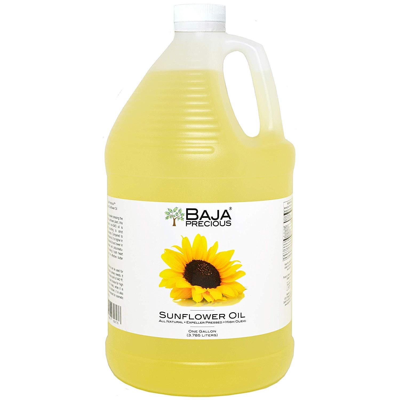 Baja Precious - Organic Sunflower Oil, 1 Gallon by Baja Precious