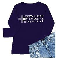Greys Anatomy Shirt Women Grey Sloan Memorial Hospital Funny Graphic T Shirt Tees Tops