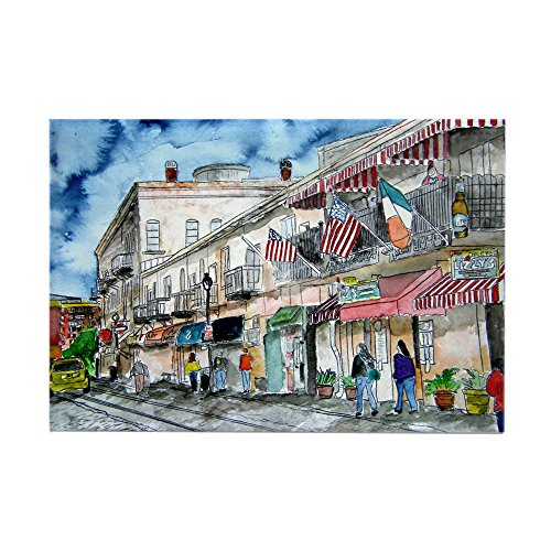 Street Rectangle Magnet - CafePress Savannah Georgia River Street Rectangle Magnet, 2