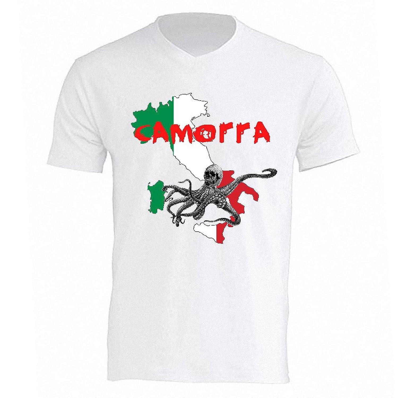 Camorra White Tee Shirt