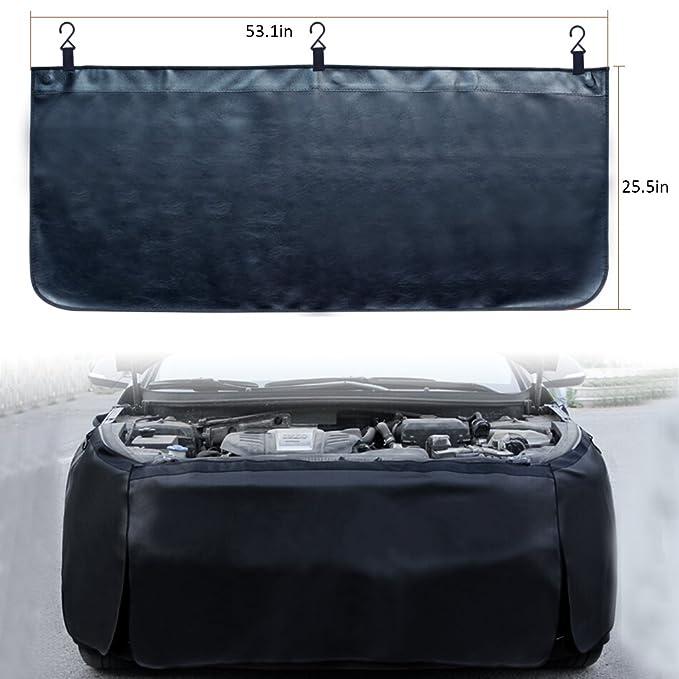 Amazon.com: baotongle - 3 piezas de tapete magnético de piel ...
