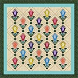 Quilt Kit Lily Blossom Trellis/Pre Cut Ready To Sew/Queen