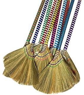 Amazon com: One Vietnamese Soft Fan (Straw) Broom, 40 Inch