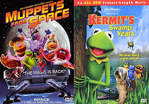 Story of Kermit the Frog Swamp Years & Muppets from Space DVD Pack Movie Original Classic Double Feature