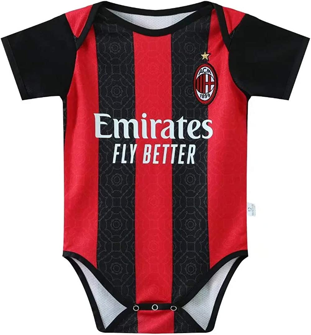ODOSAN Football Club Baby Bodysuit Comfort Jumpsuit for 0-18 Months Infant and Toddler New Season