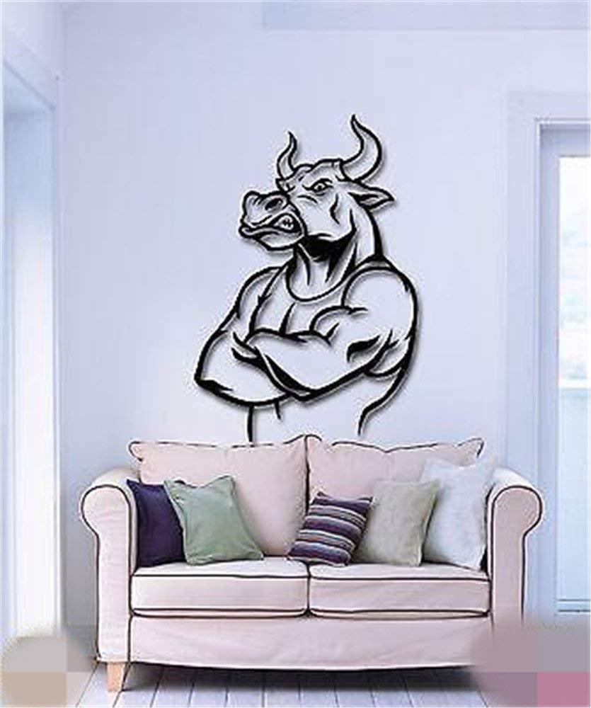 Amazoncom Larmai Motivational Quotes Art Decals Bull Funny