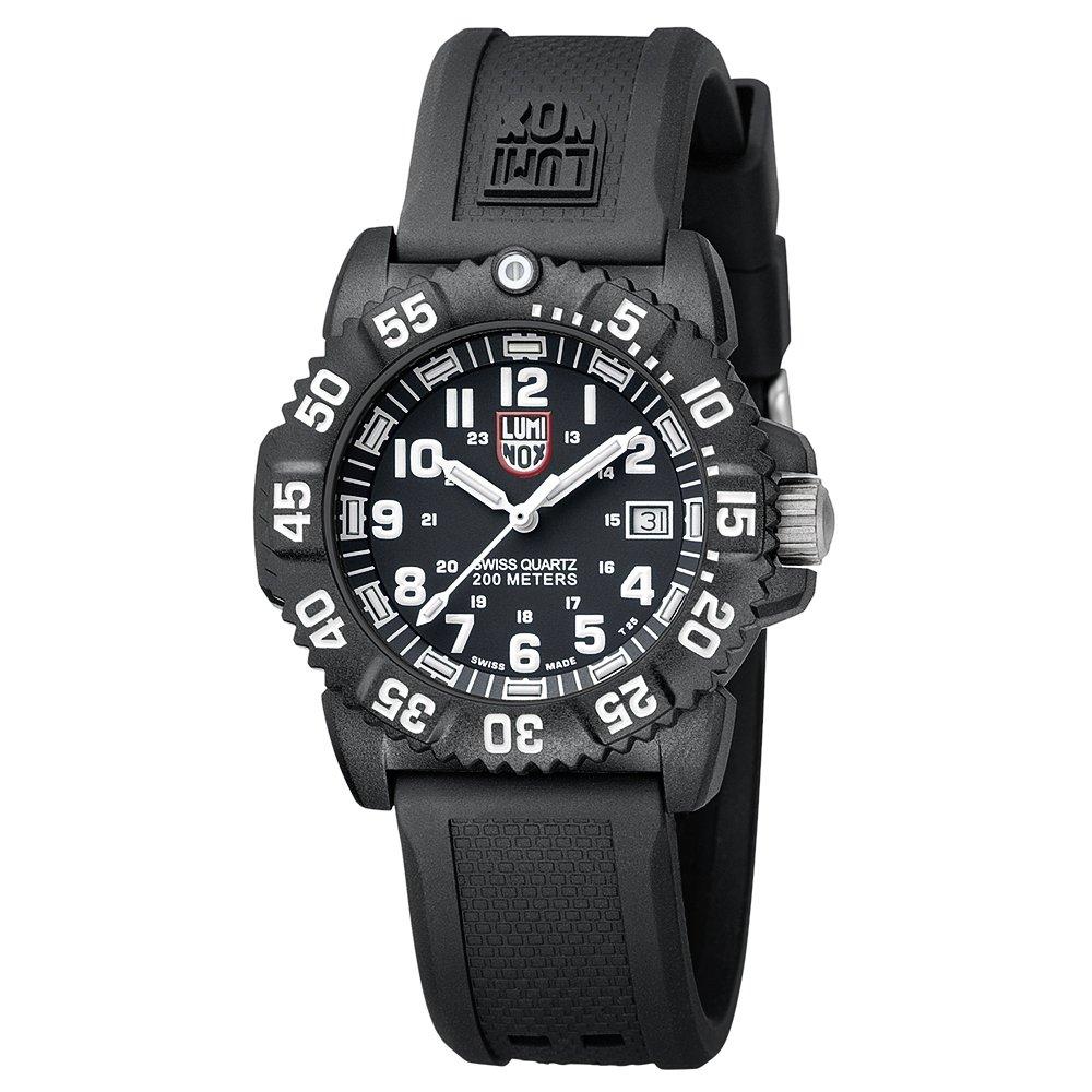 Luminox Navy SEAL Colormark 38mm LU7051 Reloj de pulsera Cuarzo Mujer correa de Caucho Negro: Luminox: Amazon.es: Relojes