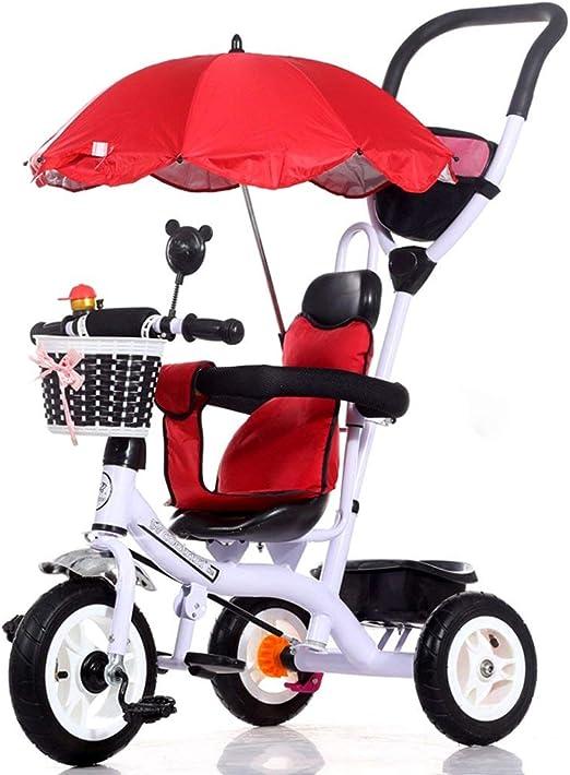 HYRL Bicicleta de Triciclo para niños, Trolley para bebés ...