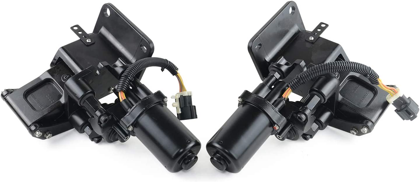 SCSN Pair Front Power Running Board Motor Bracket 9L7Z16A507A 9L7Z16A506A for Ford Expedition Lincoln 2007-2014