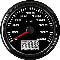 ELING velocímetro GPS universal velocímetro 0-200km/h odómetro