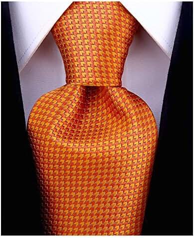 Scott Allan Men's Necktie - Burnt Orange
