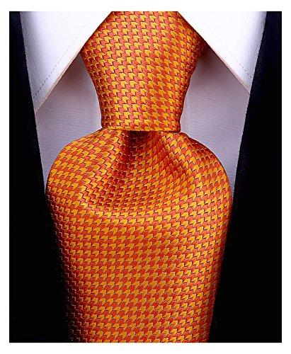 - Geometric Ties for Men - Woven Necktie - Mens Ties Neck Tie by Scott Allan