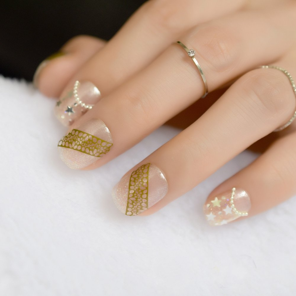 Gallery Matte Black Nails With Gold Tips   Matte is free HD wallpaper.