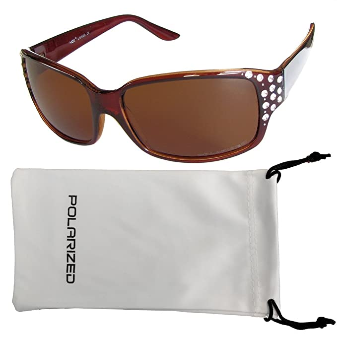 Vox Frauen polarisiert Sonnenbrille Designermode - Amber-Frame - Amber-Objektiv a8GU0I57X